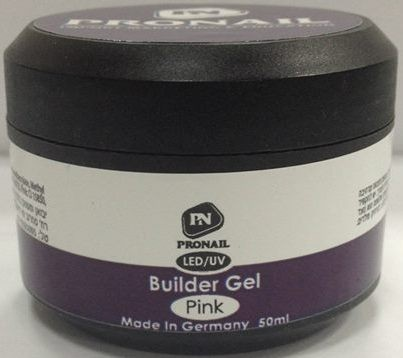"ג'ל בניה ורוד שקוף Builder Gel Pink PRONAIL 56g""r"
