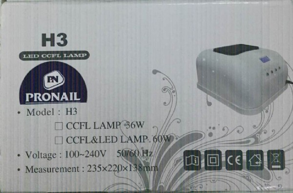 מנורת LED משולבת all4woman H3 LED+CCF- 60W