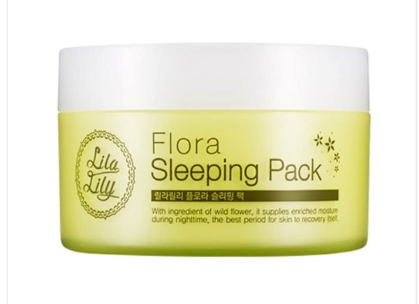 מסכת שינה מפרחי בר Sleeping Pack