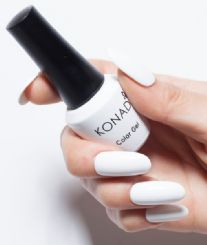 ג'ל לק konad gel polish Pure White 04