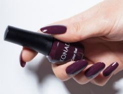 ג'ל לק konad gel polish Deep Marsala 09