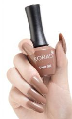 ג'ל לק konad gel polish Chocolate latte 26