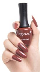 ג'ל לק konad gel polish Coconut Brown 27