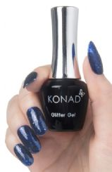 77  konad gel Polish Glitter Dark Blue
